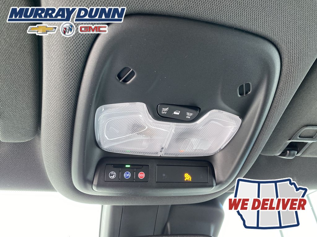 White[Summit White] 2021 Chevrolet Trailblazer Roof Mounted Controls Photo in Nipawin SK