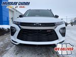 White[Summit White] 2021 Chevrolet Trailblazer Front Vehicle Photo (Low) in Nipawin SK