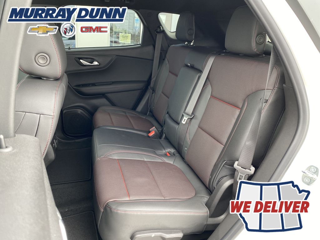 White[Iridescent Pearl Tricoat] 2021 Chevrolet Blazer Rear Seat Back Photo in Nipawin SK