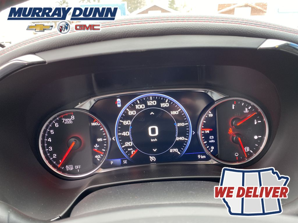 White[Iridescent Pearl Tricoat] 2021 Chevrolet Blazer Odometer Photo in Nipawin SK