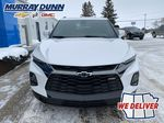 White[Iridescent Pearl Tricoat] 2021 Chevrolet Blazer Front Vehicle Photo in Nipawin SK