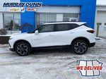 White[Iridescent Pearl Tricoat] 2021 Chevrolet Blazer Left Side Photo in Nipawin SK
