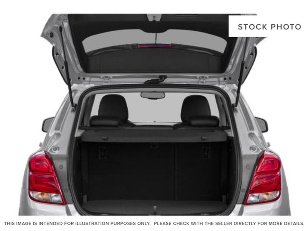 Black[Mosaic Black Metallic] 2021 Chevrolet Trax Trunk / Cargo Area Photo in Portage La Prairie MB