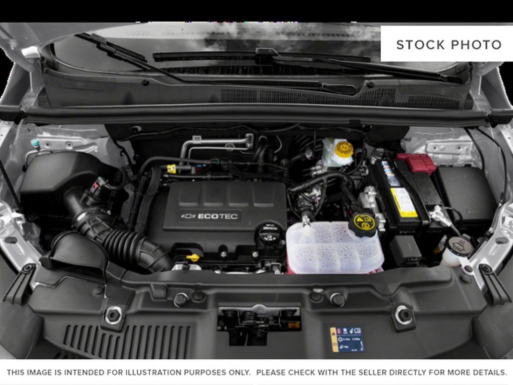 Black[Mosaic Black Metallic] 2021 Chevrolet Trax Engine Compartment Photo in Portage La Prairie MB