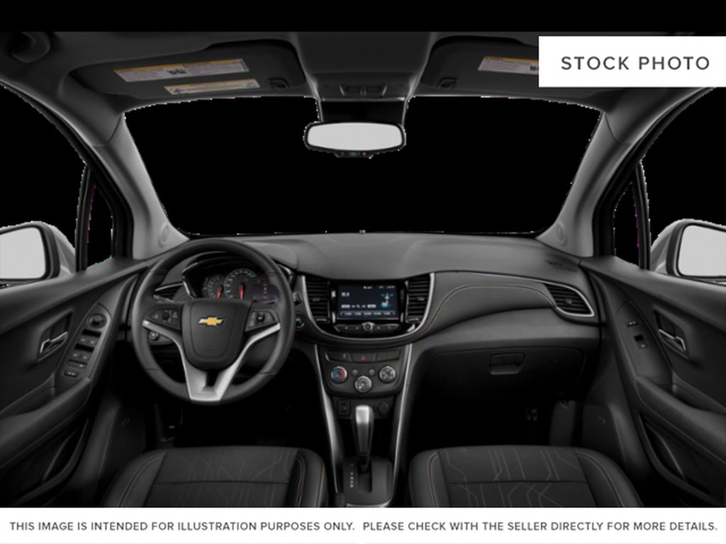 Black[Mosaic Black Metallic] 2021 Chevrolet Trax Front Seats and Dash Photo in Portage La Prairie MB