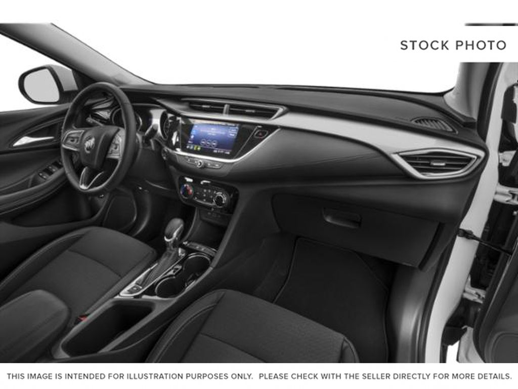 White[Summit White] 2021 Buick Encore GX Right Side Front Seat  Photo in Portage La Prairie MB