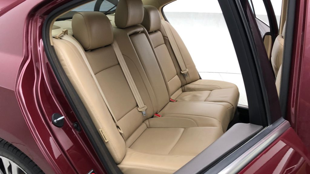Red[Cabernet Red Pearl Mica] 2013 Hyundai Genesis Sedan 3.8 w/ Technology Package - Leather, Sunroof Right Side Rear Seat  Photo in Winnipeg MB