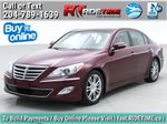 Red[Cabernet Red Pearl Mica] 2013 Hyundai Genesis Sedan 3.8 w/ Technology Package - Leather, Sunroof Primary Listing Photo in Winnipeg MB