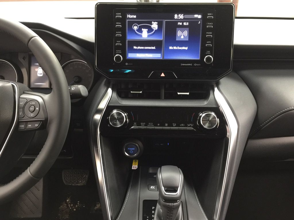 Blue[Blueprint] 2021 Toyota Venza Hybrid LE Central Dash Options Photo in Sherwood Park AB