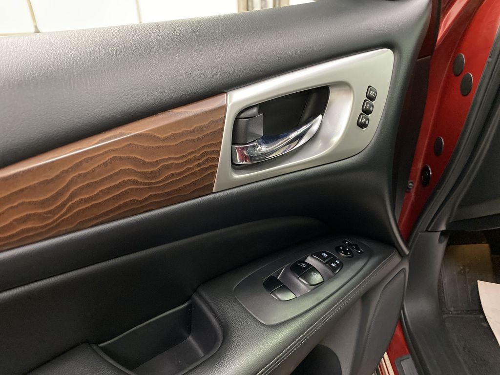 Red[Cayenne Red Metallic] 2017 Nissan Pathfinder  Driver's Side Door Controls Photo in Dartmouth NS