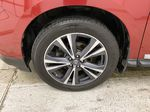 Red[Cayenne Red Metallic] 2017 Nissan Pathfinder Left Front Rim and Tire Photo in Dartmouth NS