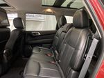 Red[Cayenne Red Metallic] 2017 Nissan Pathfinder Left Side Rear Seat  Photo in Dartmouth NS