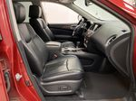 Red[Cayenne Red Metallic] 2017 Nissan Pathfinder Right Side Front Seat  Photo in Dartmouth NS