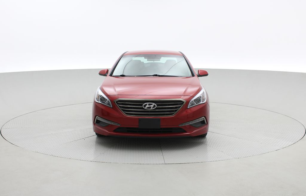 Red[Fiery Red Metallic] 2017 Hyundai Sonata GL - Clean CarFax, Heated Seats, Bluetooth Front Vehicle Photo in Winnipeg MB