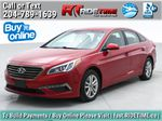 Red[Fiery Red Metallic] 2017 Hyundai Sonata GL - Clean CarFax, Heated Seats, Bluetooth Primary Listing Photo in Winnipeg MB