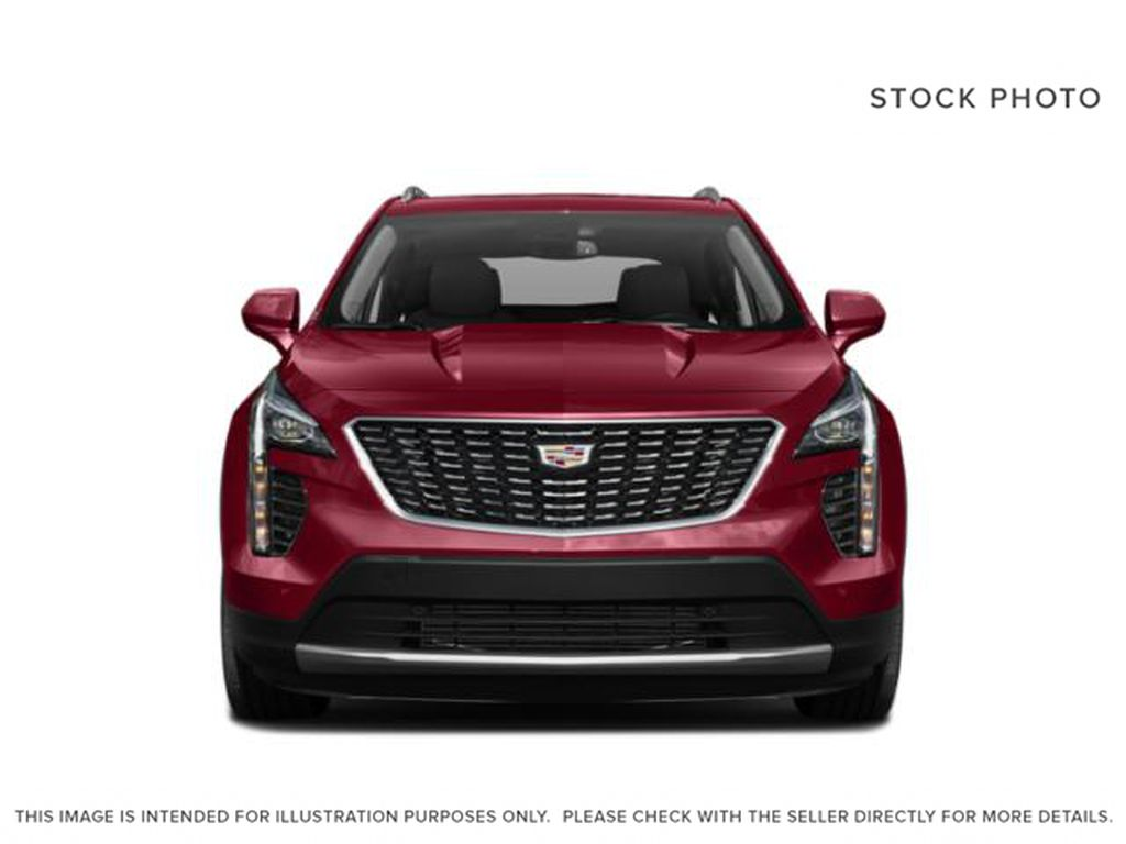 White[Crystal White Tricoat] 2020 Cadillac XT4 Front Vehicle Photo in Edmonton AB
