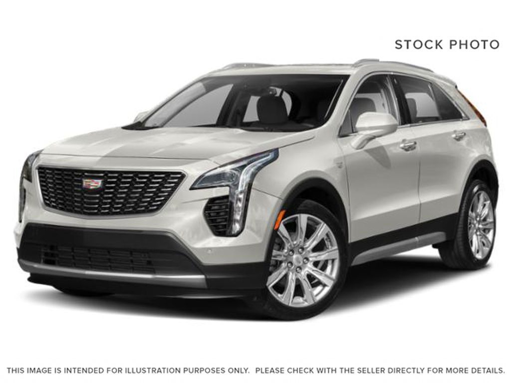White[Crystal White Tricoat] 2020 Cadillac XT4