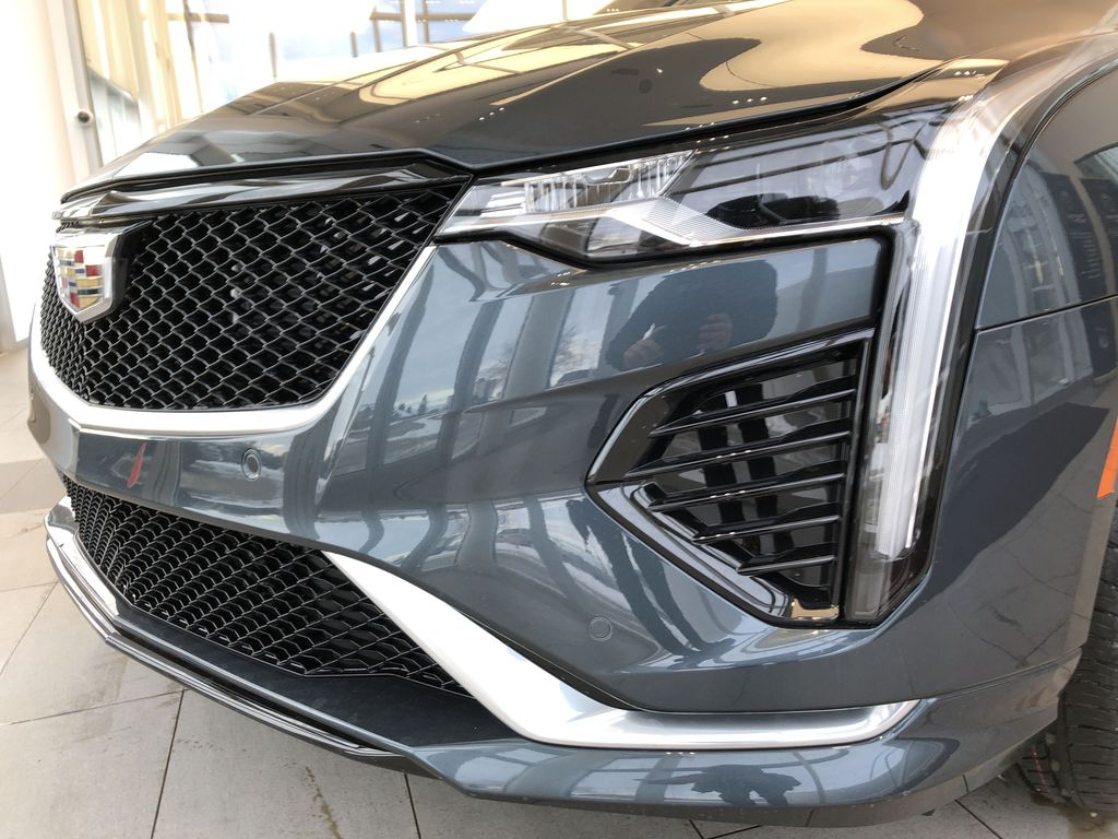 Gray[Shadow Metallic] 2021 Cadillac CT4 Left Front Head Light / Bumper and Grill in Edmonton AB