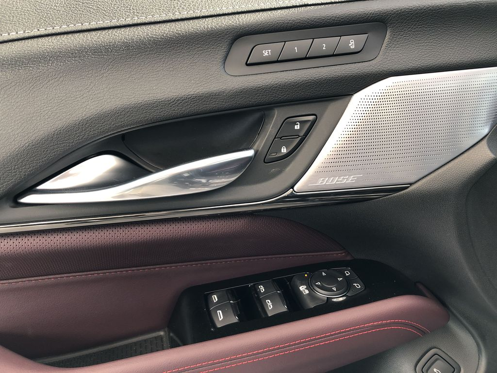 Black[Black Raven] 2021 Cadillac CT4  Driver's Side Door Controls Photo in Edmonton AB