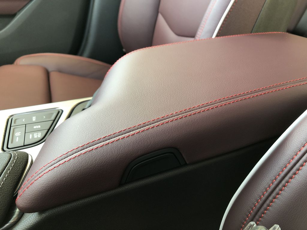 Black[Black Raven] 2021 Cadillac CT4 Center Console Photo in Edmonton AB