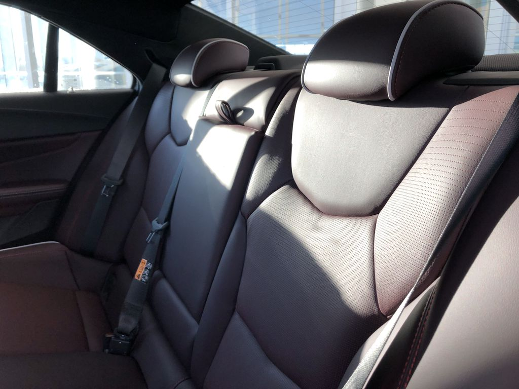 Black[Black Raven] 2021 Cadillac CT4 Left Side Rear Seat  Photo in Edmonton AB