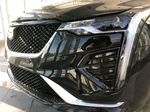 Black[Black Raven] 2021 Cadillac CT4 Left Front Head Light / Bumper and Grill in Edmonton AB