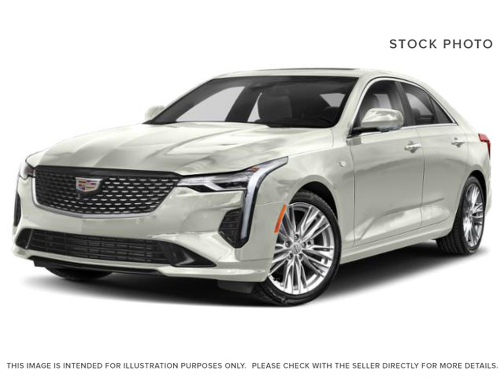 White[Crystal White Tricoat] 2021 Cadillac CT4