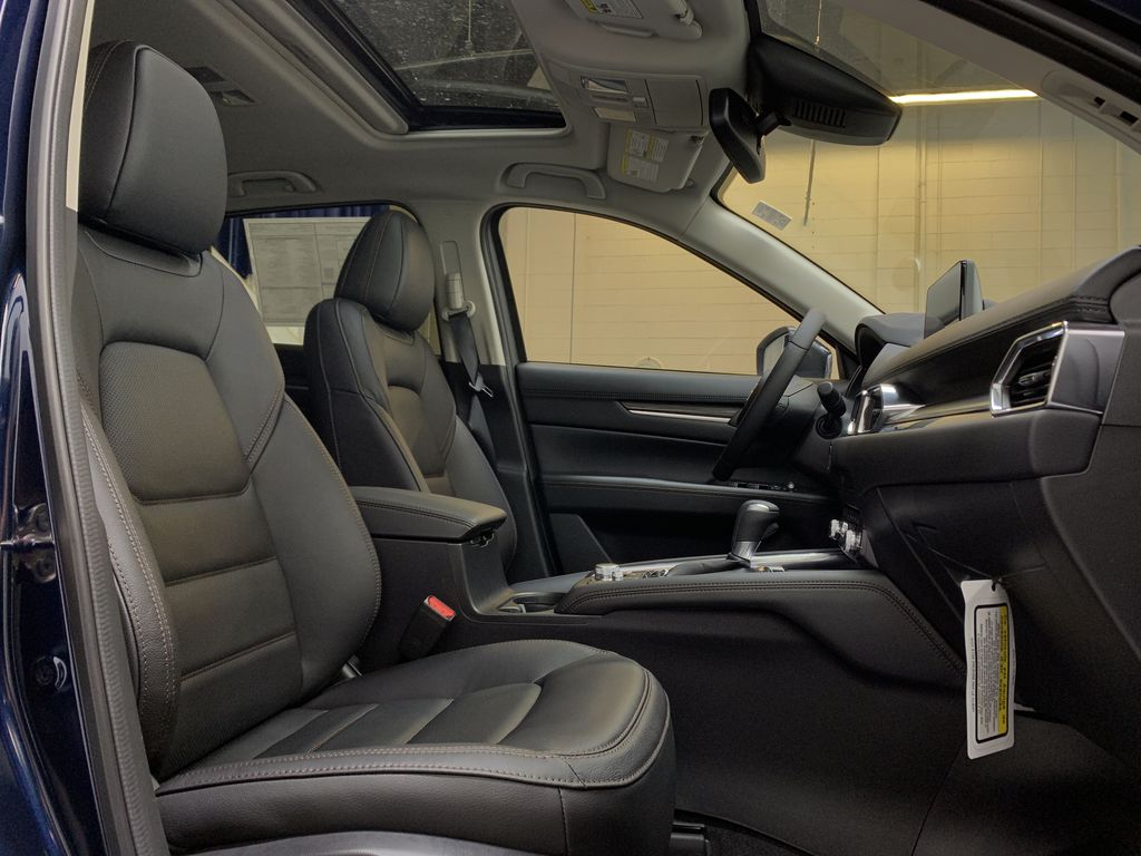 DEEP CRYSTAL BLUE MICA(42M) 2021 Mazda CX-5 GT AWD Right Side Front Seat  Photo in Edmonton AB