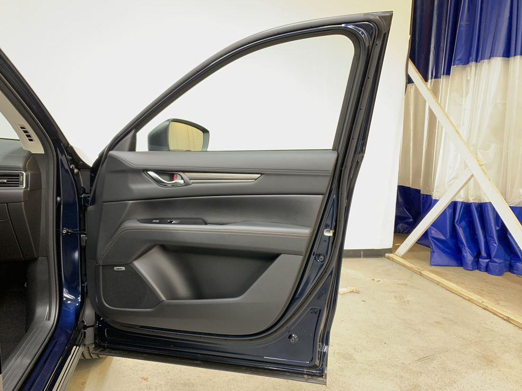 DEEP CRYSTAL BLUE MICA(42M) 2021 Mazda CX-5 GT AWD Right Front Interior Door Panel Photo in Edmonton AB