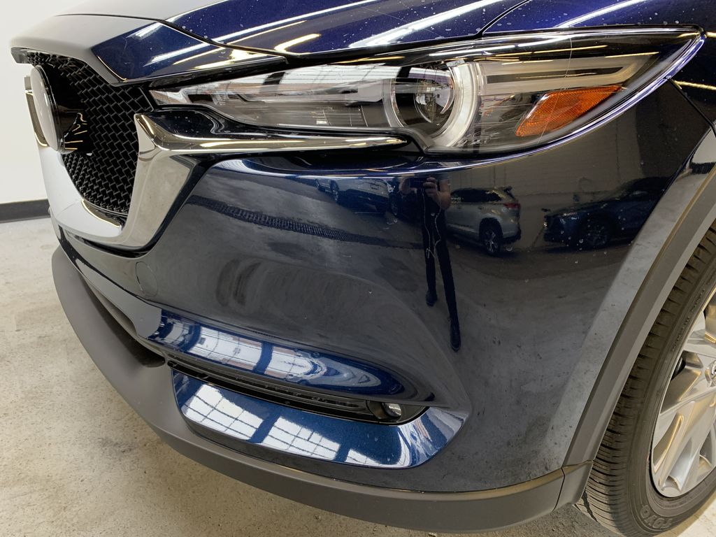 DEEP CRYSTAL BLUE MICA(42M) 2021 Mazda CX-5 GT AWD Left Front Head Light / Bumper and Grill in Edmonton AB