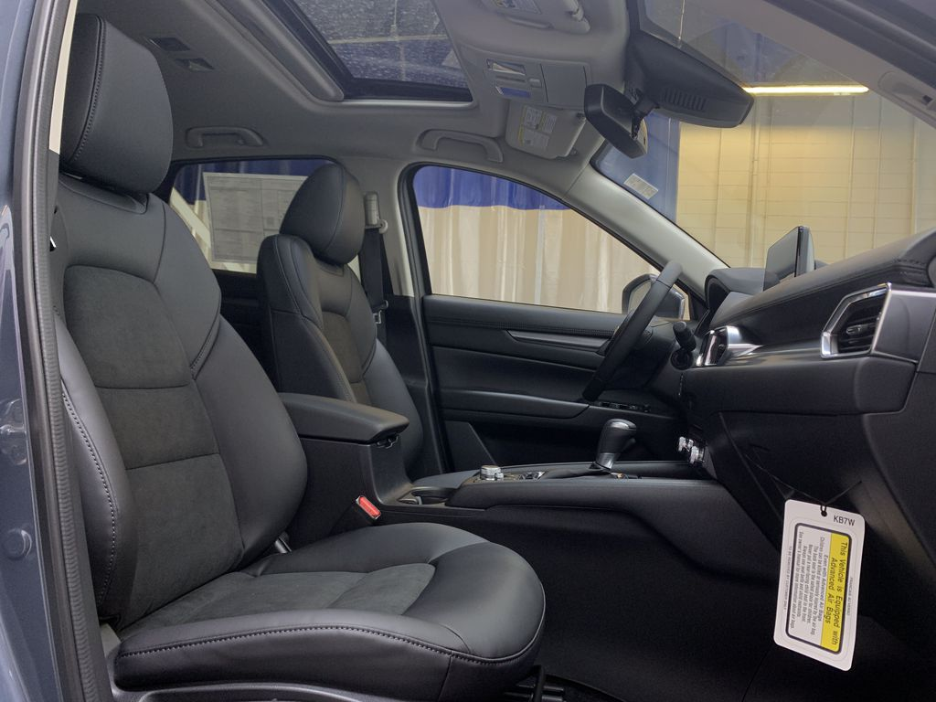 POLYMETAL GREY METALLIC(47C) 2021 Mazda CX-5 GS-Comfort Right Side Front Seat  Photo in Edmonton AB