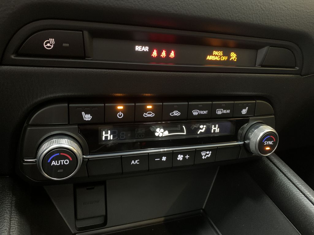POLYMETAL GREY METALLIC(47C) 2021 Mazda CX-5 GS-Comfort Central Dash Options Photo in Edmonton AB