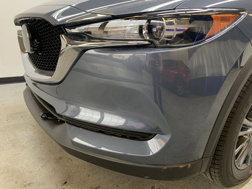 POLYMETAL GREY METALLIC(47C) 2021 Mazda CX-5 GS-Comfort Left Front Head Light / Bumper and Grill in Edmonton AB