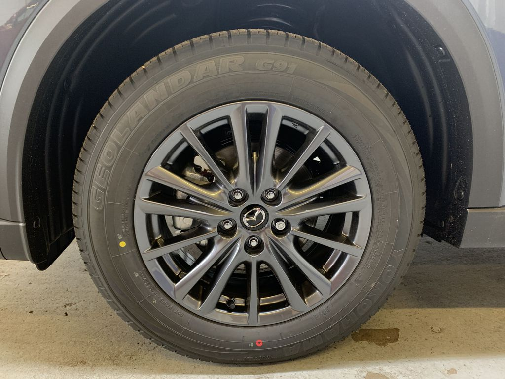 POLYMETAL GREY METALLIC(47C) 2021 Mazda CX-5 GS-Comfort Left Front Rim and Tire Photo in Edmonton AB