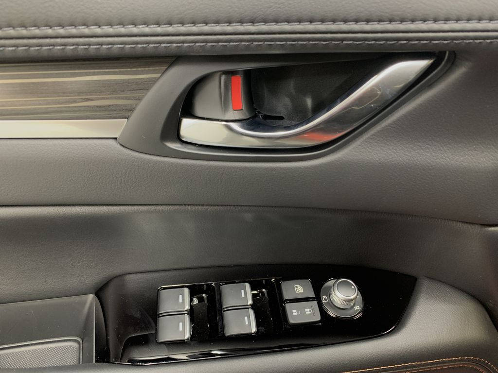 SOUL RED CRYSTAL METALLIC(46V) 2021 Mazda CX-5 GT AWD  Driver's Side Door Controls Photo in Edmonton AB