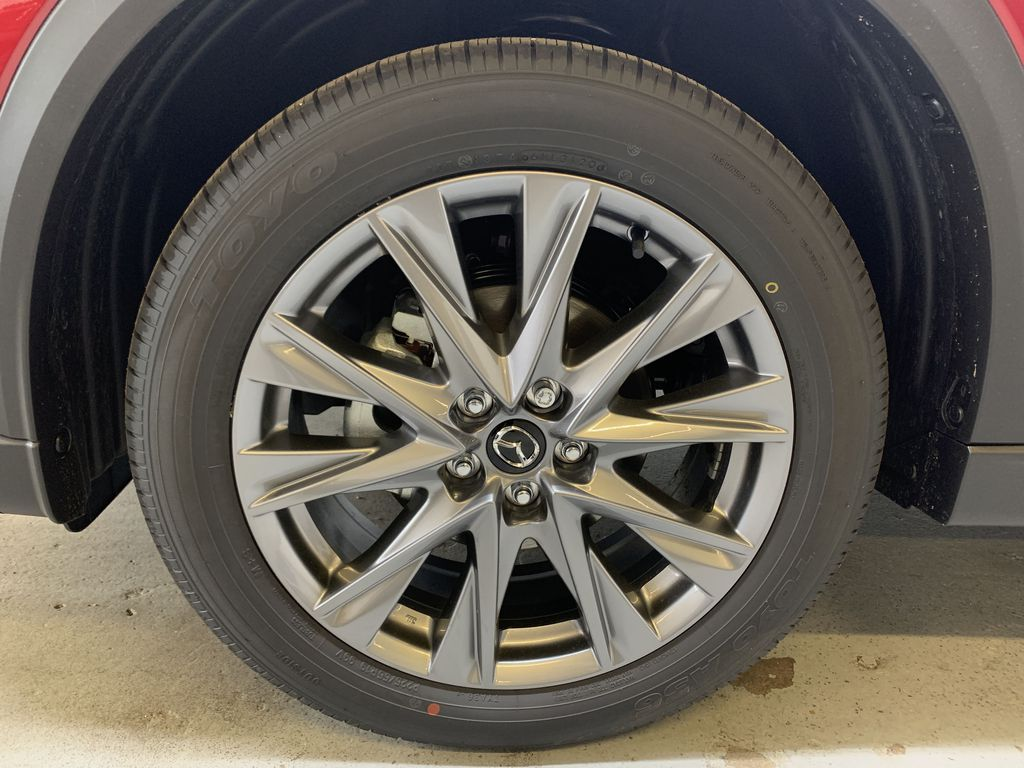 SOUL RED CRYSTAL METALLIC(46V) 2021 Mazda CX-5 GT AWD Left Front Rim and Tire Photo in Edmonton AB