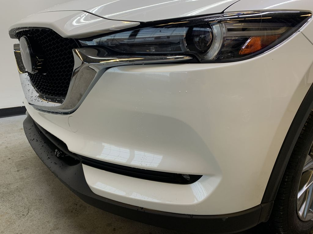 SNOW FLAKE WHITE PEARL(25D) 2021 Mazda CX-5 GT AWD Left Front Head Light / Bumper and Grill in Edmonton AB
