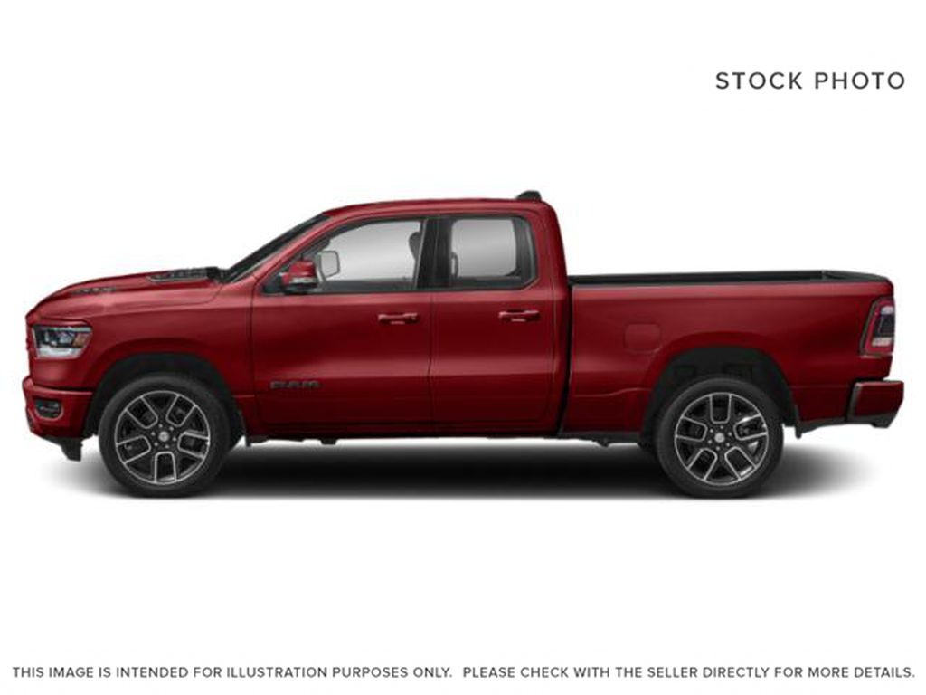 Red[Flame Red] 2020 Ram 1500 Left Side Photo in Yarmouth NS
