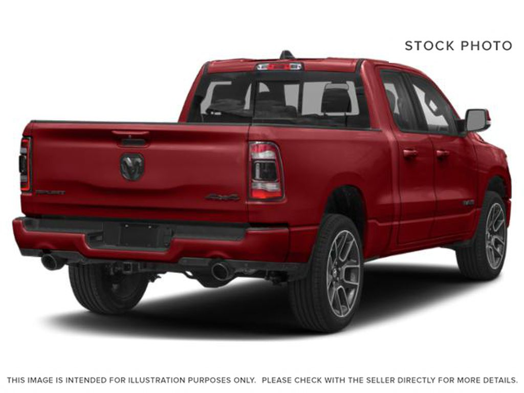 Red[Flame Red] 2020 Ram 1500 Right Rear Corner Photo in Yarmouth NS