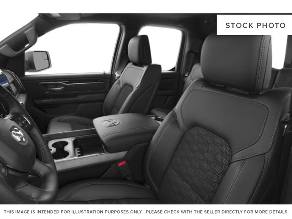 Red[Flame Red] 2020 Ram 1500 Left Front Interior Photo in Yarmouth NS