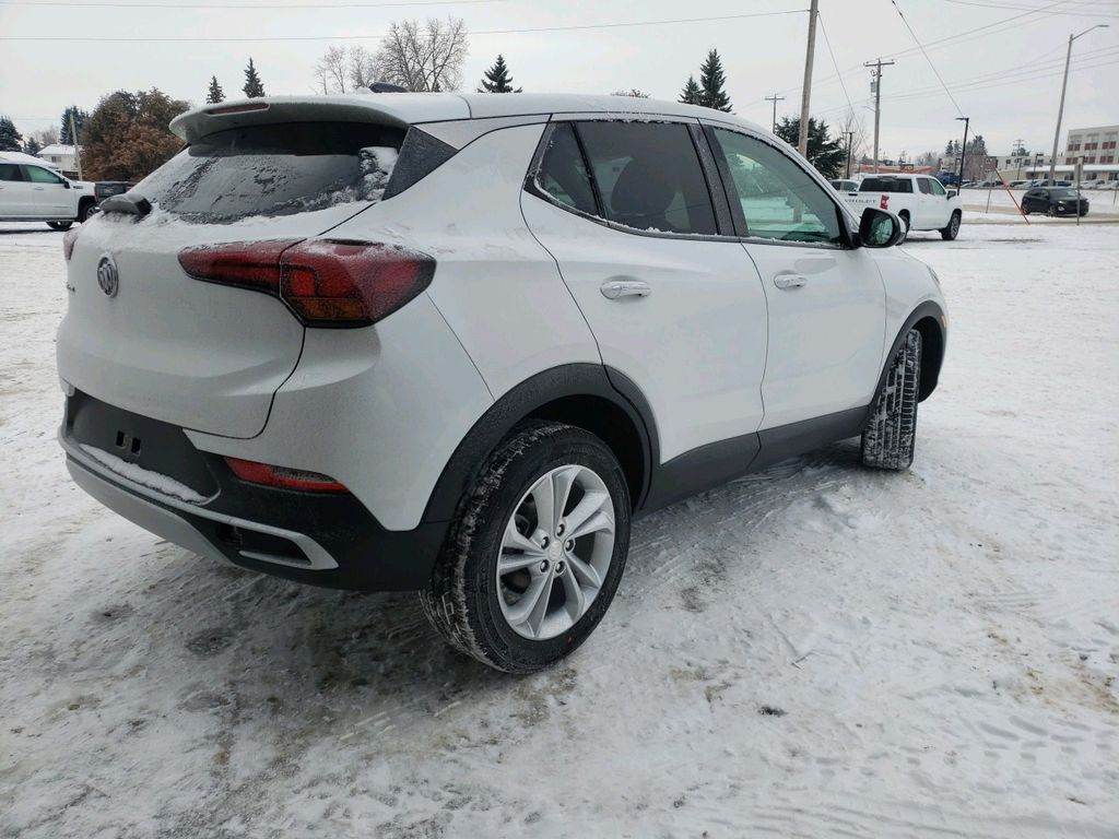 White 2021 Buick Encore GX Driver's Side Door Controls Photo in Westlock AB