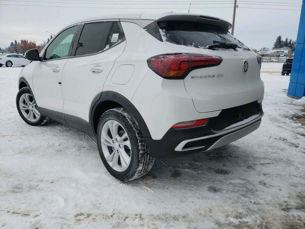 White 2021 Buick Encore GX Sunroof Photo in Westlock AB
