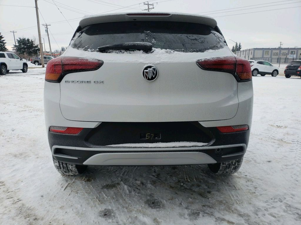 White 2021 Buick Encore GX Left Front Interior Photo in Westlock AB