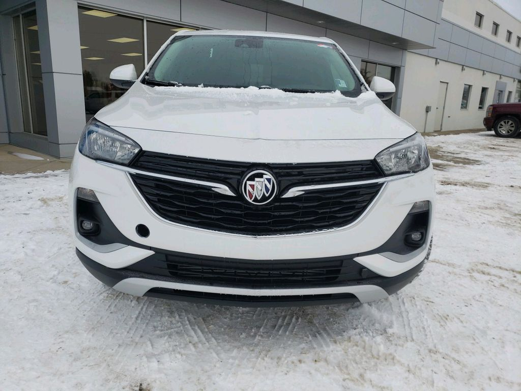 White 2021 Buick Encore GX Left Front Corner Photo in Westlock AB