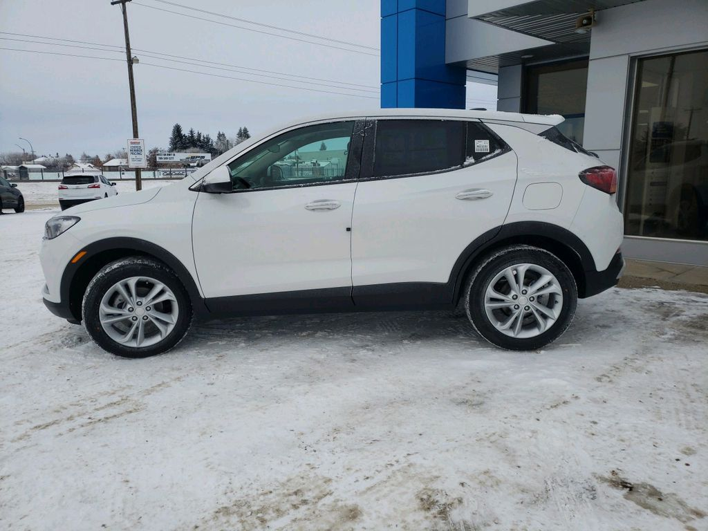 White 2021 Buick Encore GX Left Front Head Light / Bumper and Grill in Westlock AB