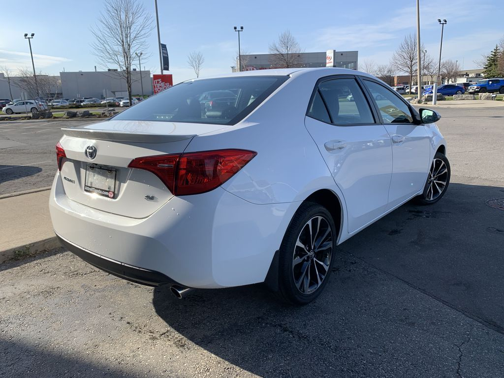 White 2017 Toyota Corolla Sunroof Photo in Brampton ON