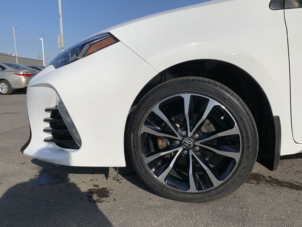 White 2017 Toyota Corolla Left Front Corner Photo in Brampton ON