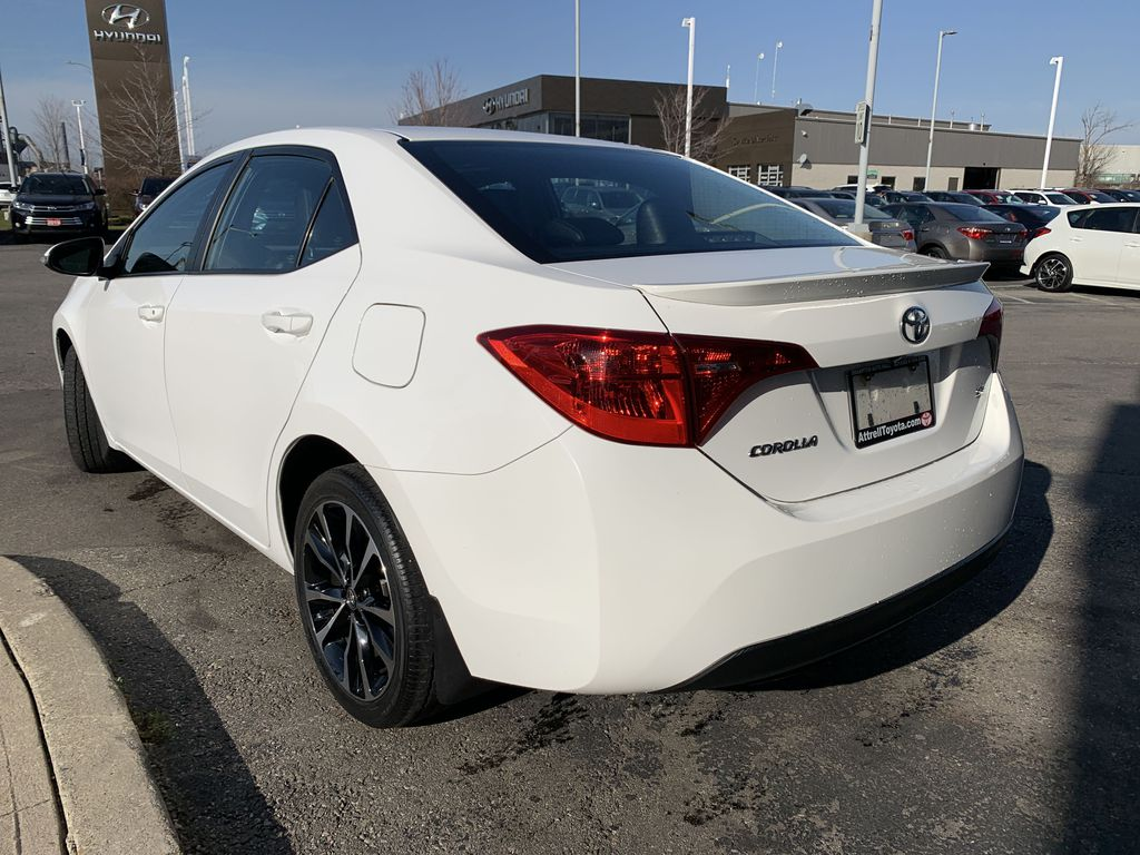 White 2017 Toyota Corolla Left Front Interior Door Panel Photo in Brampton ON
