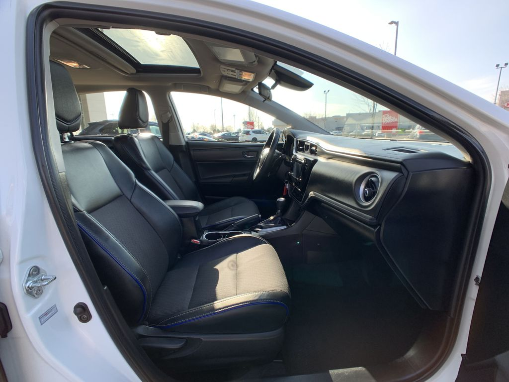 White 2017 Toyota Corolla Right Side Rear Seat  Photo in Brampton ON