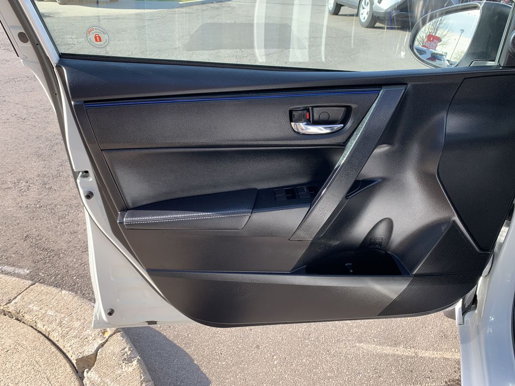 White 2017 Toyota Corolla Left Rear Interior Door Panel Photo in Brampton ON